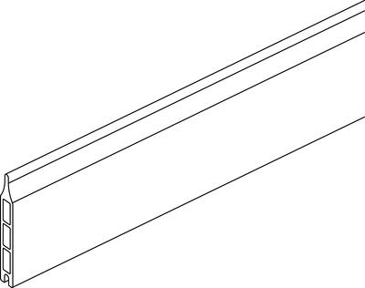 Einzellamelle (ohne Zubehör)