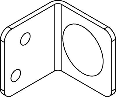 Elementhalter (6 Stck.)