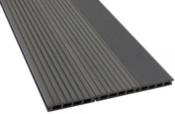 BPC/WPC Terrassendiele Komplettbausatz Pro Innovation Silver Cedar, 4000 mm