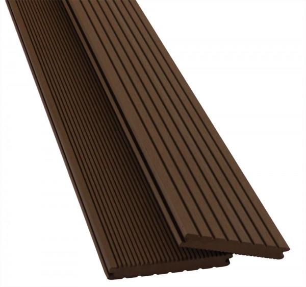 BPC / WPC Terrassendiele Pro Solid Mahagoni