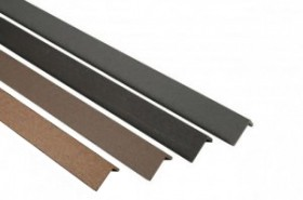 WPC/BPC Abschlusswinkel Ebony / Silver Cedar / Mahagoni / Sand