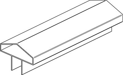 Abschlussprofil Multi-Fence