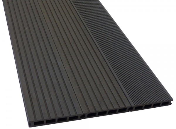 BPC/WPC Terrassendiele Komplettbausatz Pro Innovation Ebony, 2900 mm