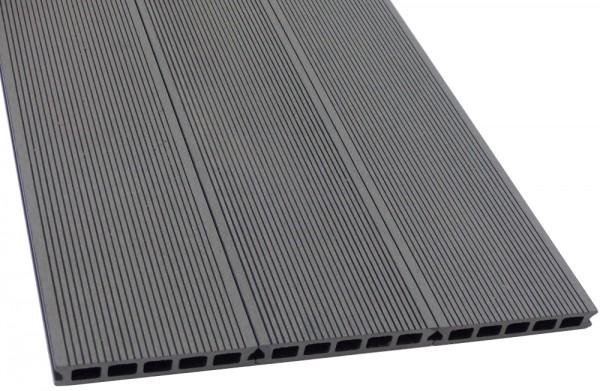WPC Terrassendiele Komplettbausatz Easy Plus Silver Cedar, 5000 mm