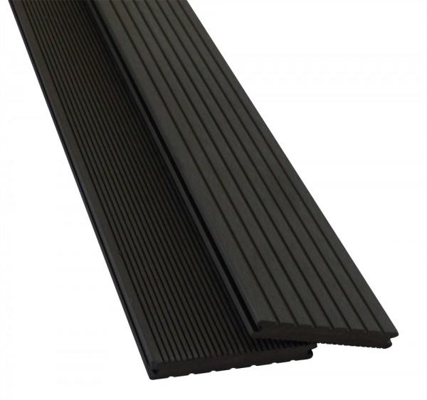 BPC / WPC Terrassendiele Pro Solid Ebony
