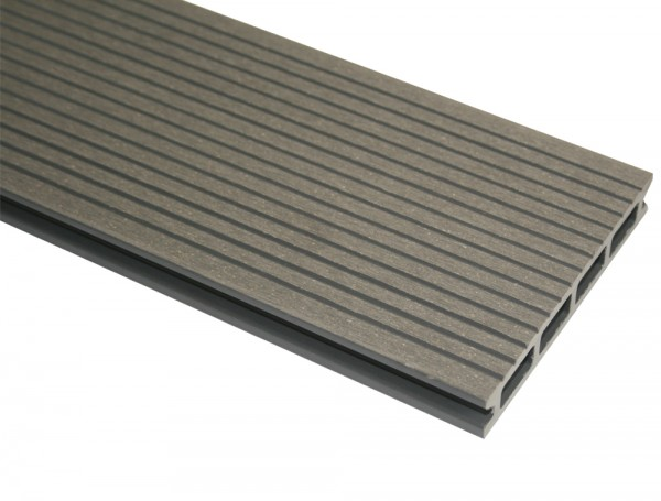 WPC Terrassendiele Compact Plus | Silver Cedar